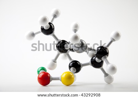 Atomic connections - stock photo