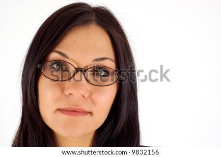 atractive woman - stock photo