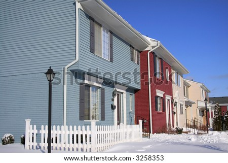 Attached homes