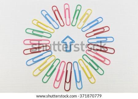 Attachments - stock photo