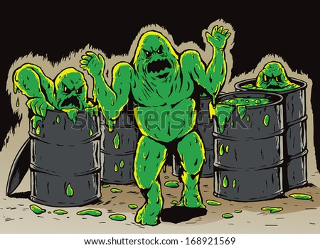 Attack of the slime monsters