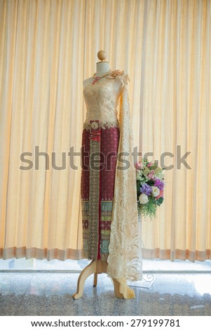 attire lady thailand Thai dress, identity culture of Thailand