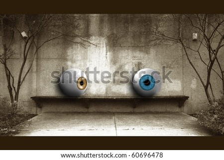 Attraction - stock photo