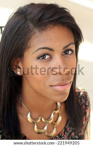Attractive African American Business Professional Business Woman Upset and Unhappy