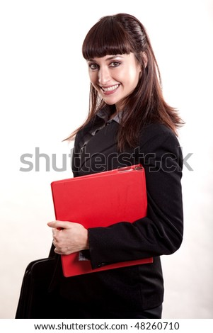 Attractive asian korean businesswoman