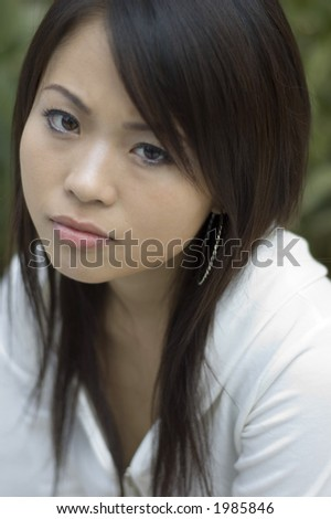 attractive asian woman