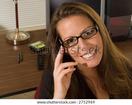 Attractive Businesswoman - stock photo