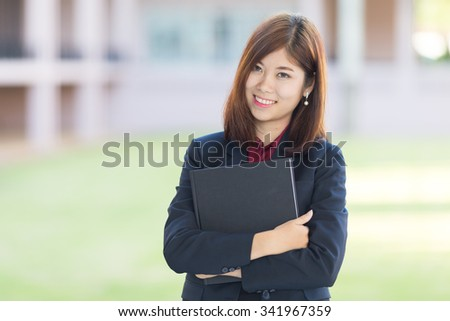 attractive modern young  businesswoman