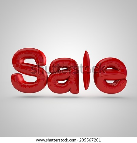 attractive sale 3d-text