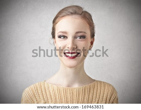 Attractive Smile - stock photo