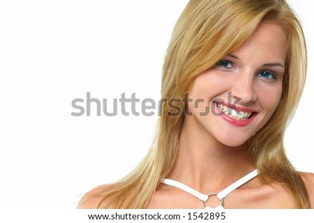 attractive woman - stock photo