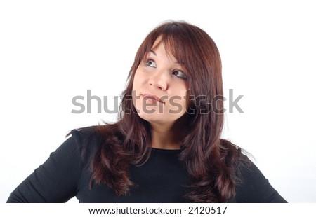 attractive woman #4 - stock photo