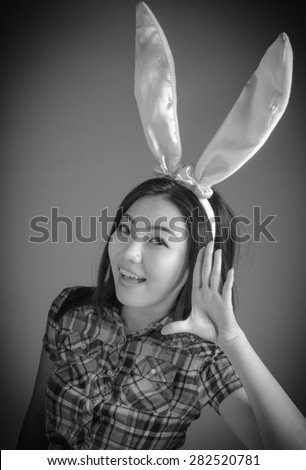 Attractive 30 years old caucasian man shot in studio isolated on a white background, black and white image - stock photo