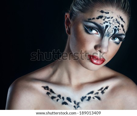 leopard makeup ideas on pinterest snow leopard deviantart and leopard nails. Black Bedroom Furniture Sets. Home Design Ideas