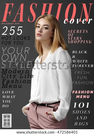 Magazine Cover Stock Images Royalty Free Images Vectors Shutterstock