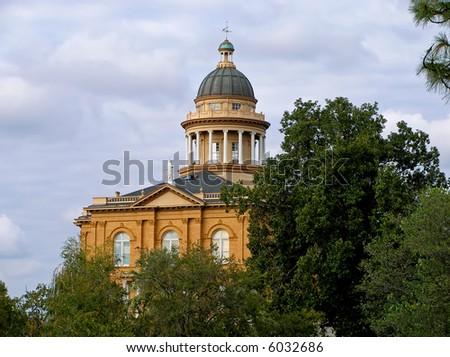 Auburn Courthouse in California - stock photo