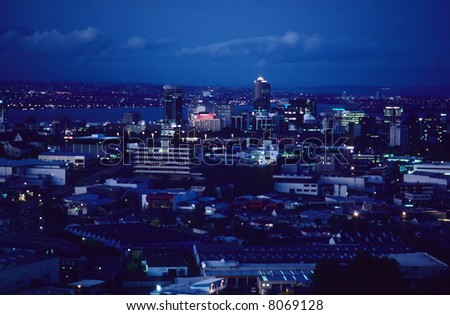 Auckland downtown, New Zealand