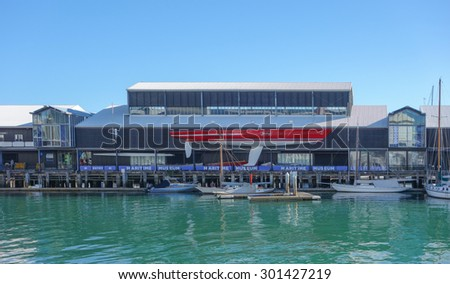 AUCKLAND, NEW ZEALAND - JUNE 08, 2015: Maritime Museum