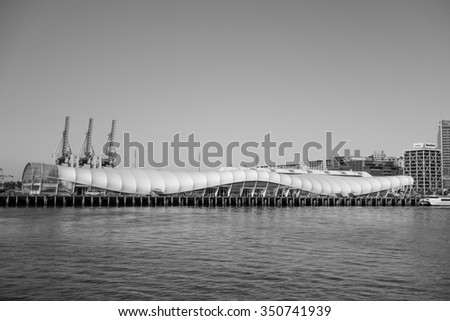AUCKLAND, NEW ZEALAND - JUNE 08, 2015: The new harbour