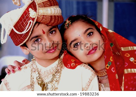 AUCKLAND - OCT 16, 2006. Two unidentified performers smile in between sets at the annual Diwali Festival at Auckland's Britomart Centre on Oct 16, 2006 in Auckland, NZ. Hindus celebrate the event globally. - stock photo