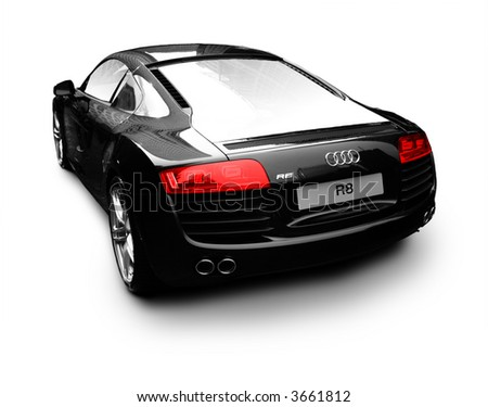 Audi R8 Isolated