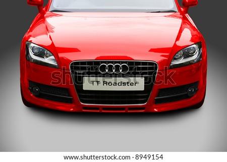 Audi TT Roadster - stock photo