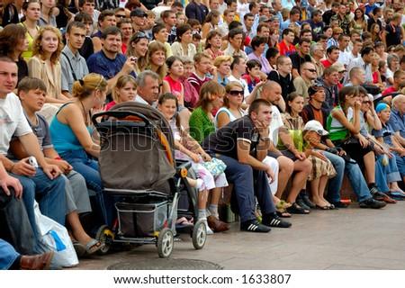 Audience - stock photo