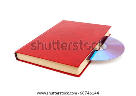 audio book concept isolated on white background