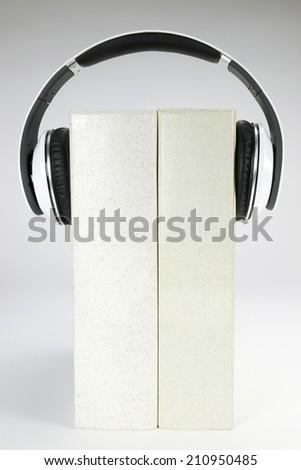 Audio-books concept - stock photo