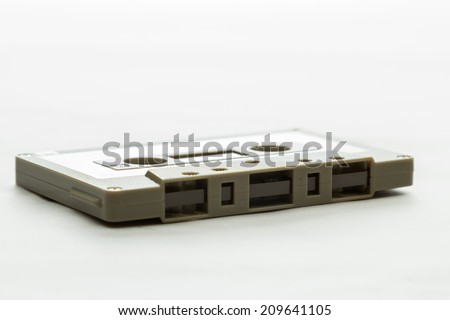 audio cassette - stock photo