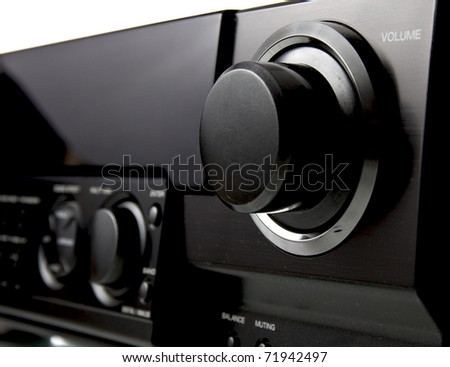Audio connect - stock photo
