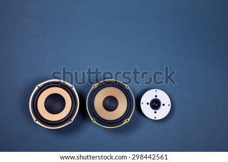 Audio Sound Speakers Collection Set