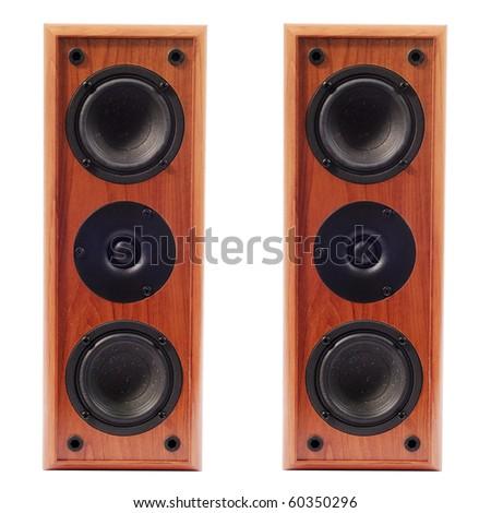 Audio speakers - stock photo