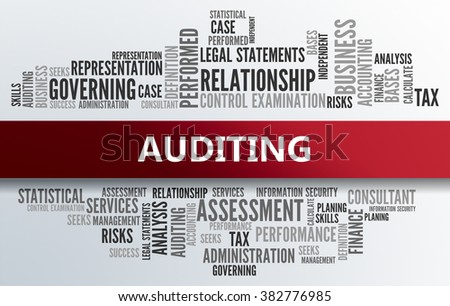 AUDITING | Business Abstract Concept - stock photo