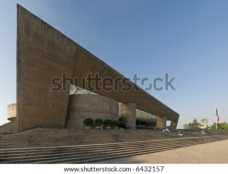 Auditorio Nacional Mexico city - stock photo