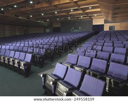 auditorium - stock photo