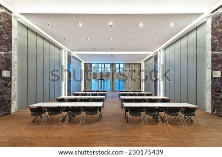 Auditorium Business meeting room  - stock photo