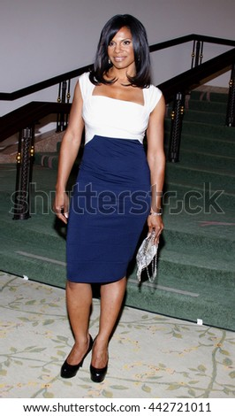 Audra McDonald at the Essence Black Women in Hollywood Luncheon held at the Beverly Hills Hotel in Beverly Hills, USA on February 19, 2009. - stock photo