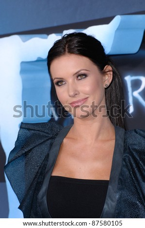 "Audrina Patridge at the Los Angeles premiere of ""Avatar"" at Grauman's Chinese Theatre, Hollywood. December 16, 2009  Los Angeles, CA Picture: Paul Smith / Featureflash"
