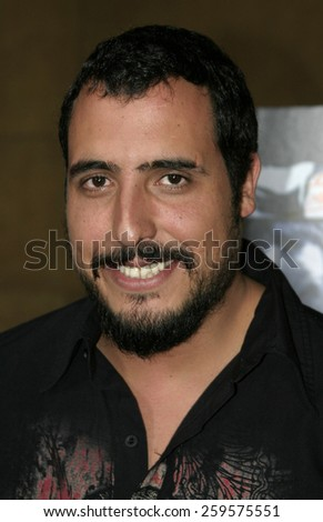 "August 22, 2005. Alejandro Lozano at the Film premiere of Televisa Cine theatrical release ""Matando Cabos"" at the The Egyptian Theatre in Hollywood, California, United States."