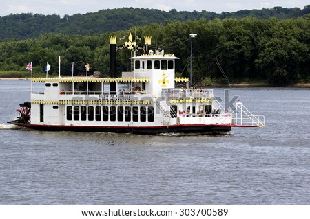 Riverboats Stock Photos Images Amp Pictures  Shutterstock