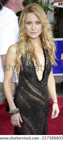 "August 2, 2005. Kate Hudson at the ""The Skeleton Key"" Los Angeles Premiere at the Universal Studios Cinema in Hollywood, California. - stock photo"