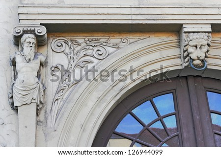 Augusteum Detail - stock photo