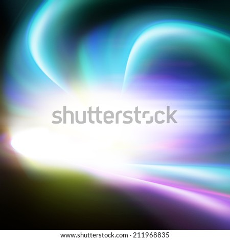aura light universe, illustration background - stock photo