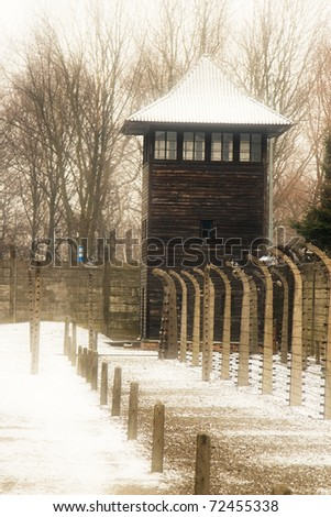 Auschwitz Electrified Fence