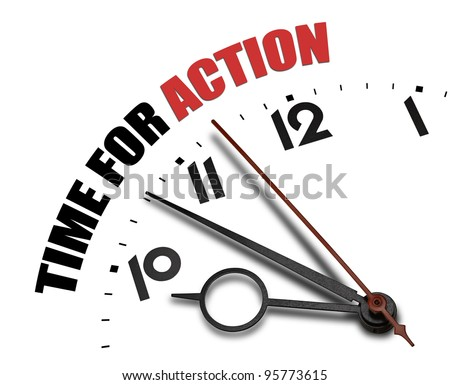 Austere time is money concept - stock photo