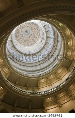Austin Capitol Rotunda - stock photo