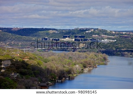 Austin Landscape - stock photo