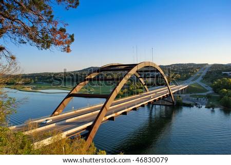 Austin Loop 360 Bridge - stock photo