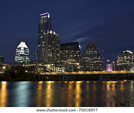 Austin, Texas skyline - stock photo